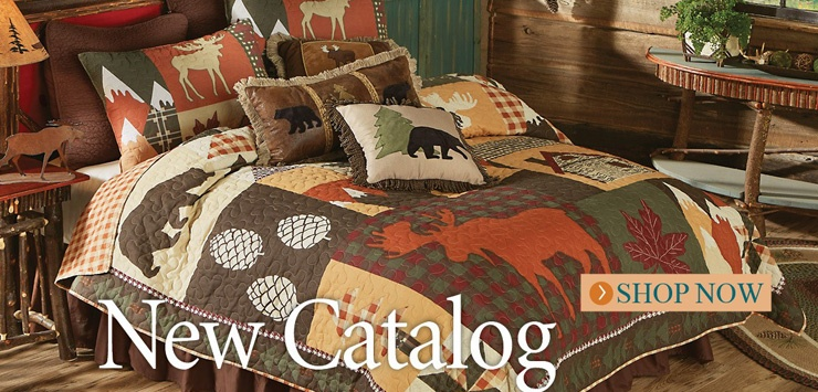 New Rustic Bedding!